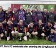 Greyhound Bar KO Cup Winners , 2001
