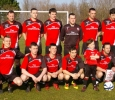 Senior v Kilbarrack United in FAI Junior Cup Last 16, 17 Feb 2013