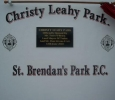#158 , Christy Leahy Park Official opening