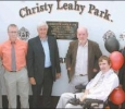 #159 , Christy Leahy Park Official opening