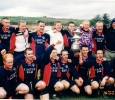 #151, Senior A team, Castle Bar League Cup Winners 2000 .