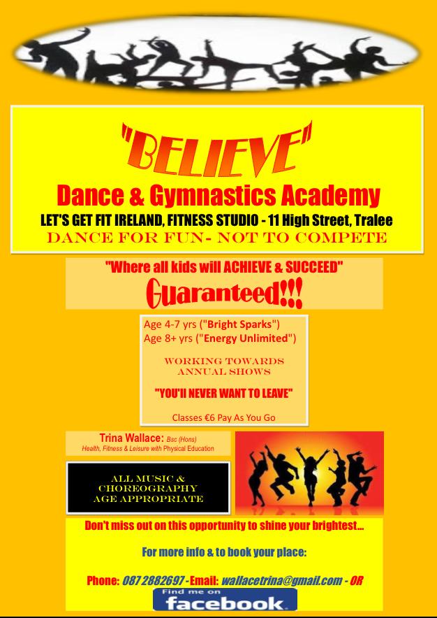 Believe , Dance & Gymnastics Academy