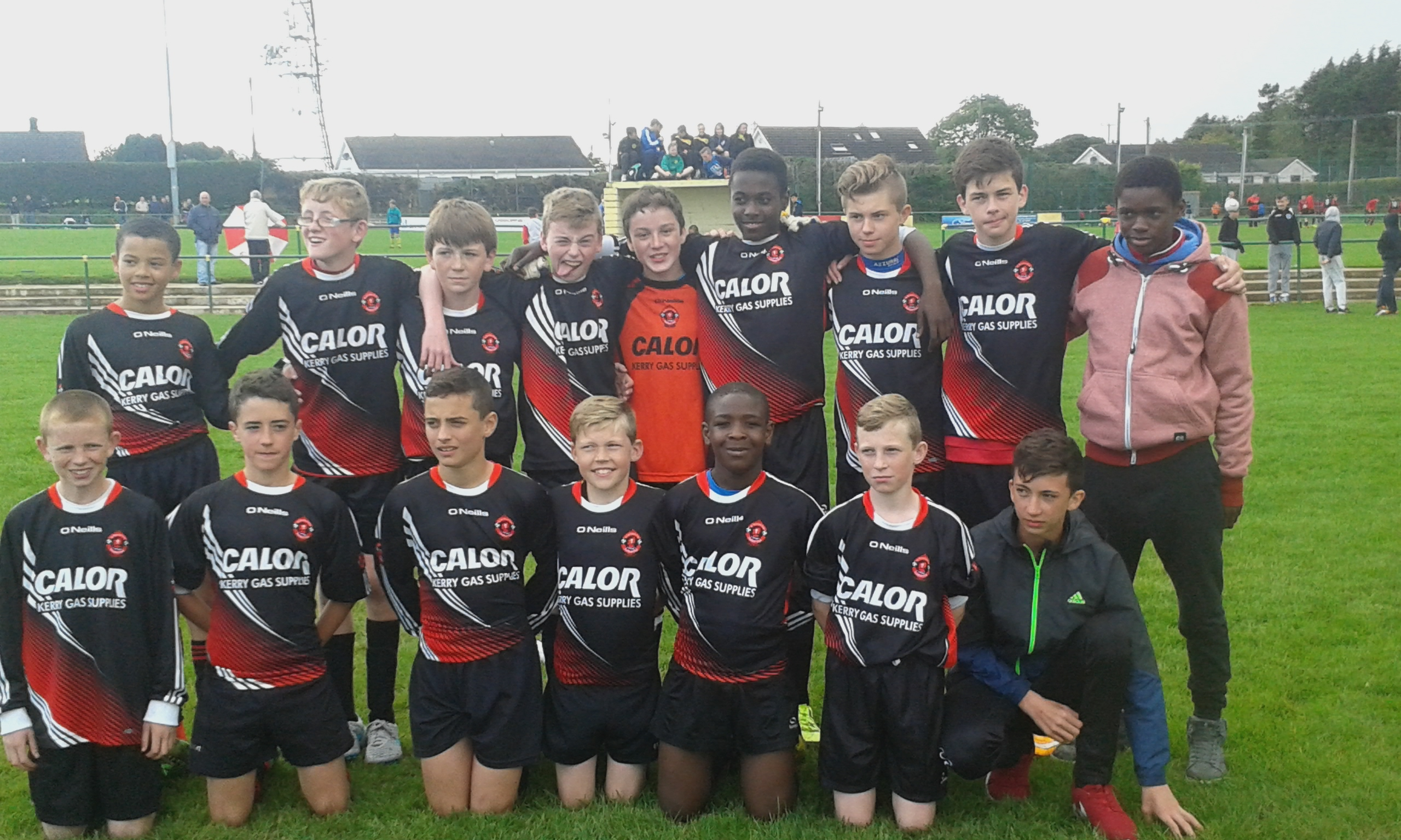 St Brendans Park Fc U14 Squad at the Rockmount Tournament on Sunday 23rd August 2015