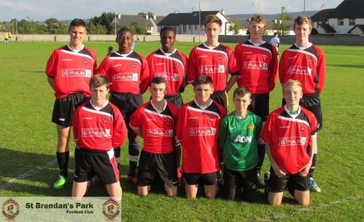 Park U16 A v Castleisland Fc , Wednesday 9-9-2015