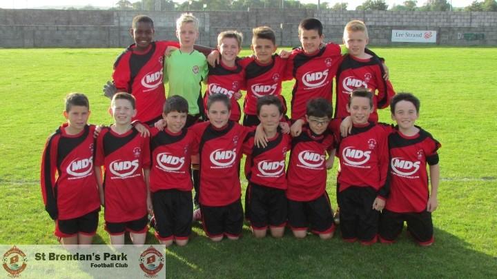 Park U12 A v Listowel Celtic , Wednesday 9-9-2015