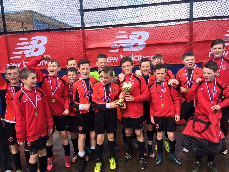 Park u13 team win the plate at the manchester easter international cup ,sunday 27-03-2016