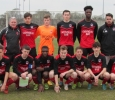 Park Youth team before their FAI Youth 1/4 Final on Saturday 19th March 2016