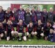 Greyhound Bar KO Cup Winners , 2001