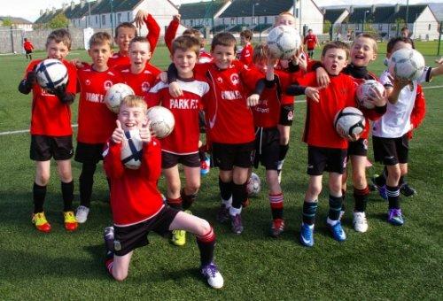 Park FC Academy U9/U10 , May 2012