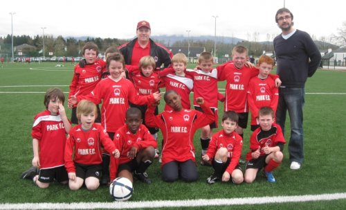 U9 playing away to Killarney Celtic