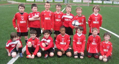 Park Fc Academy U9 , Away to Killarney Celtic March 2012