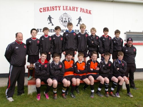 Park Fc U14 v Castlemaine in League, 02 Mar 2013