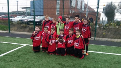 Park Fc U11's , Aisling Annacotty Blitz Shield Winners , 15-03-2015