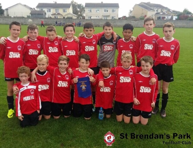 Park Fc U13B before their SFAI Cup game away against Fairview Rangers on Saturday October 8th 2016 .