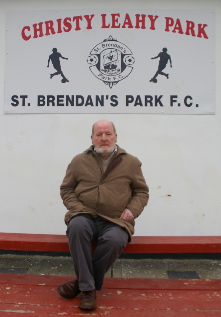 Christy Leahy at our grounds named after himself
